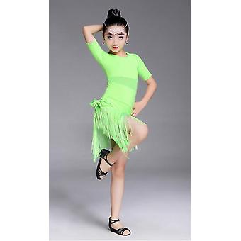 Fringe Latin Dance, Salsa Ballroom, Tango Kostuum, Jurken