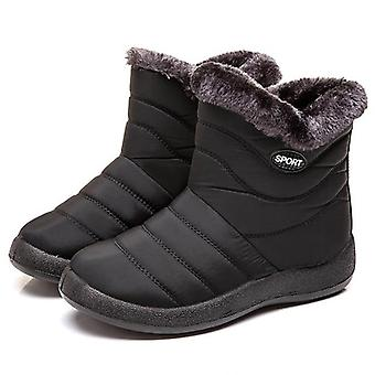 Non-slip Winter Boots Fur Warm Ankle Waterproof Boots