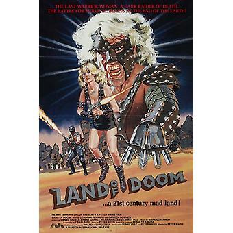 Land of Doom elokuvan juliste tulosta (27 x 40)