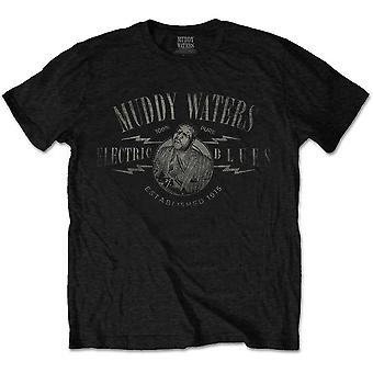 Muddy Waters Electric Blues Vintage Tee T-shirt officiel Unisex