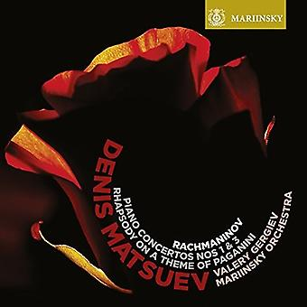 Rachmaninov / Matsuev / Gergiev - Piano Concertos 1 & 3 / Rhapsody on a Theme [Vinyl] USA import