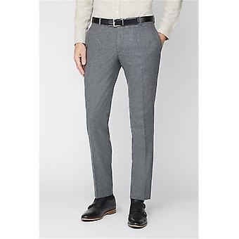 Grey Tweed Suit Trousers