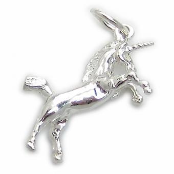 Licorne Sterling Silver Charm .925 X 1 Licornes Charmes Pendentifs - 4935