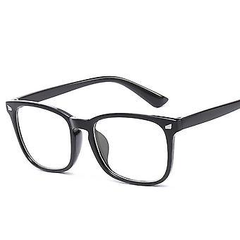 Blaues Licht, Computer-Gaming-Brille, Transparente Brille und Frauen