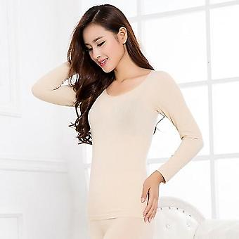 Winter Seamless Antibacterial Warm Sexy Ladies Clothes