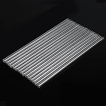 AU 15x 300mm lasi putki putki puhaltava blow seinä borosilikaatti OD 10mm 1mm paksu tyhjiö
