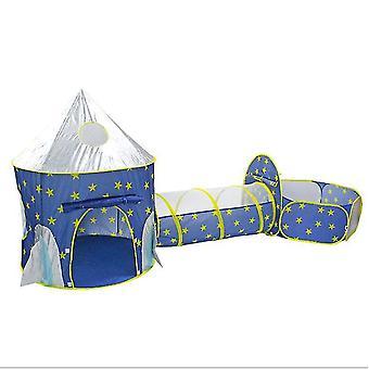 子供&アポス;s屋内と屋外遊びテントスペースカプセルユルト親子インタラクティブキャッスル