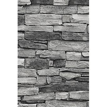 Stone Pattern Wallpaper (5 Sqm)