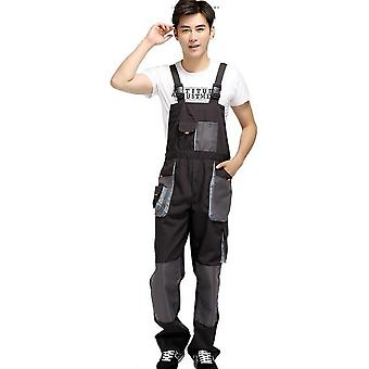 Overalls Men Work Coveralls Protective Repairman Strap Jumpsuits Pants Working
