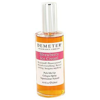 Sorvete de morango de Deméter colônia Spray por Deméter 4oz colônia Spray