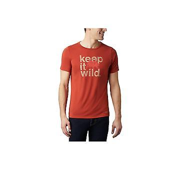 Columbia Terra Vale II 1888843835 universell hele året menn t-skjorte