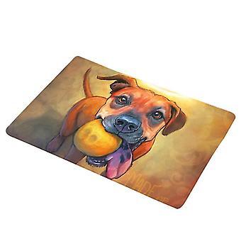 Flannel Mat Non-slip chien