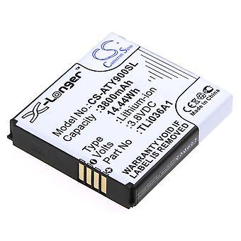 Akku Alcatel TLi036A1 One Touch Link 4G+ LTE Y900 OneTouch Y901NB Y900NB