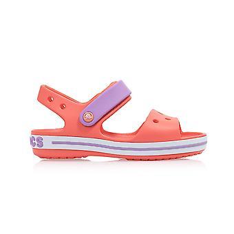 Crocs Crocband Sandália Kids 128566SL sapatos infantis de verão universais