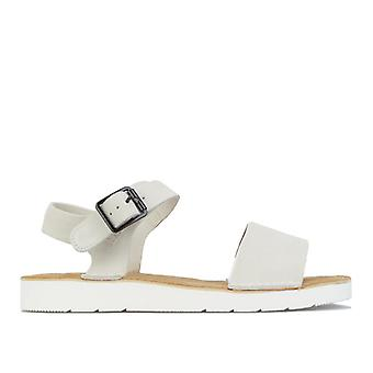 Naisten Clarks Originals Lunan Strap Sandaalit valkoisella