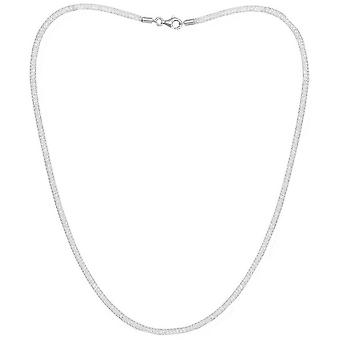Pearls of the Orient Credo Mesh Collar Necklace - Silver