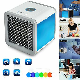 2021 Upgraded version Air Conditioner Air Cooler Fan 7 Colors Light USB Portable Mini Air Conditioner Personal Space Air Cooling Fan