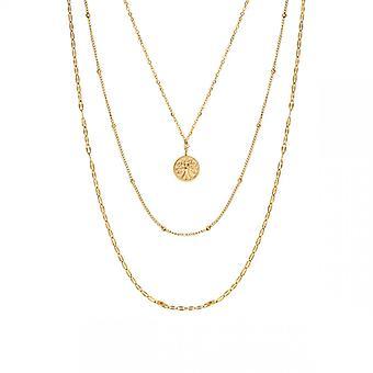 Clyda Kvinnors Smycken Halsband BCLCO0012SD - Dor Steel