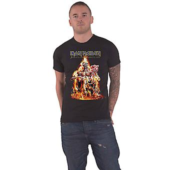 Iron Maiden T Shirt Seventh Son Band Logo new Official Mens Black