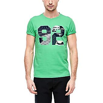 s.Oliver 13.002.32.5356 تي شيرت، الأخضر (الأخضر 7306)، X-رجل كبير