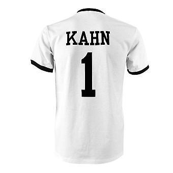 Oliver Kahn 1 tyskland land ringer t-shirt