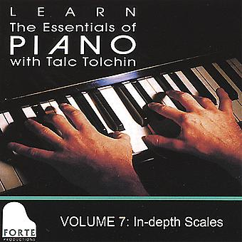 Vol. 7-Learn the Essentials of Piano [DVD] USA import