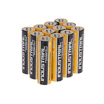 Duracell Industrial AA Alkaline Batteries Tub of 12