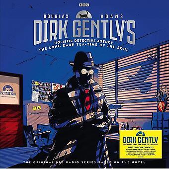Douglas Adams - Själens långa mörka tetid röd, gul & blå vinyl