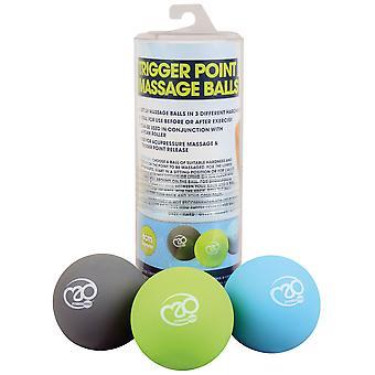Fitness Mad Trigger Punkt Massage Ball Set