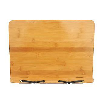Brown 28x21cm adjustable book stands rest homi2684