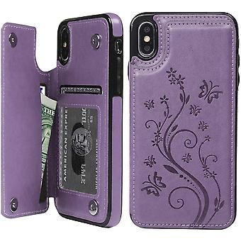 Phone Case Leather Flip Case Magnetic Phone Cover For Iphone X/xs