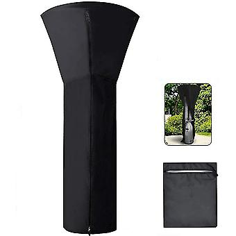 Outdoor Upright Patio Heater Cover Waterproof And Windproof Cover(228*106*70cm)