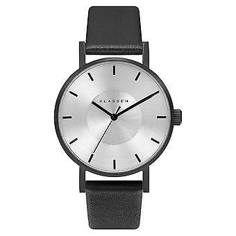 Klasse14 Volare Black 36mm Black Leather Strap VO14BK001W Watch
