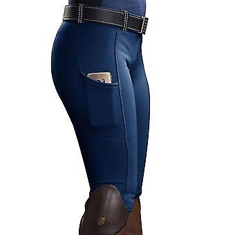 Riding pants women solid horse riding leggings high waist yoga pants