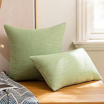 Tyynyliinat 45 * 45cm puuvilla- ja pellatyynyliina, sohva olohuone, toimistotyyny