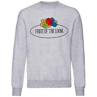 Fruit of the Loom Womens/Ladies Vintage Large Logo Sweatshirt