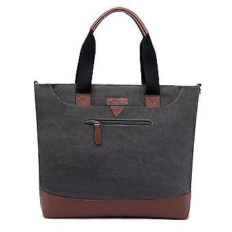 Tote Bag 15.6 Inches Laptop Briefcases Nylon Office Bag Shoulder Bag Lightweight Book Bag,red