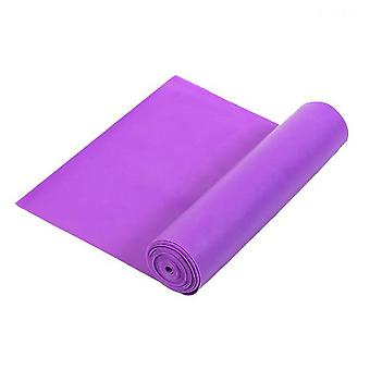 Högre motståndsband, professionella icke-latex elastiska träningsband (lila)
