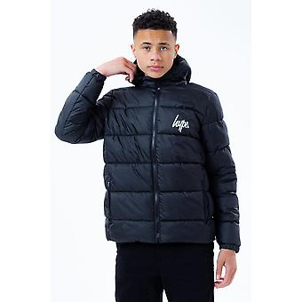 Hype Childrens/Kids Hooded Puffer Jacket