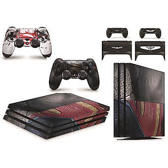GNG Heros VS-skins for PS4 Playstation 4 PRO Console Decal Vinal-klistremerke + 2-kontrollersett