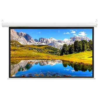 """Electric Projection Screen with Remote Control 68"""" 16:9 Display Screen"""