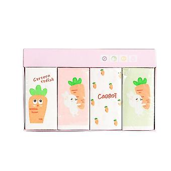 Napkins Paper - Radish Cartoon Printed Tissue For Party