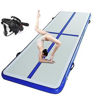 Tapis gonflable de gymnastique de piste d'air avec la pompe