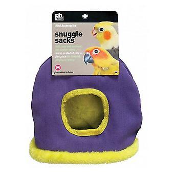 "Prevue Snuggle Sack - Medium - 7.5""L x 5.25""W x 10""H - (Assorted Colors)"