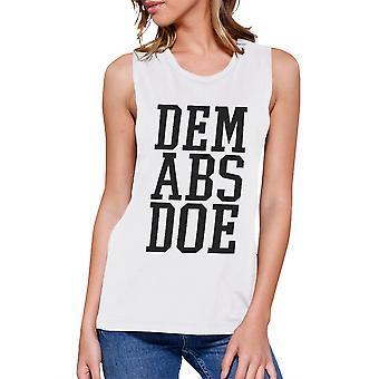 Mark Abs Doe arbete ut Muscle Tee kvinnors Workout Tank ärmlös topp
