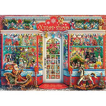 جيبسون عيد الميلاد Emporium بانوراما اللغز (1000 قطعة)