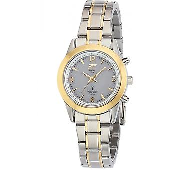ONE (Eco Tech Time) Gold Stainless Steel ELS-11266-11M Women's Watch
