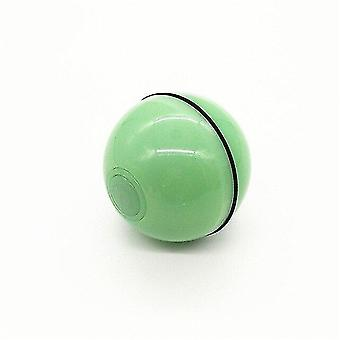 Cat toys smart automatic cat toys ball pet interactive auto rolling self rotating ball led light usb green