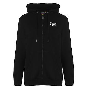 Everlast Mens Logo Sweater Hoody Crew Full Zip Sweatshirt Casual Jumper Top
