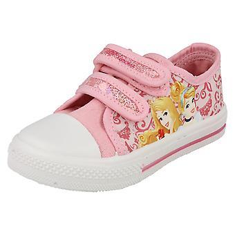 Ragazze personaggio Disney Princess Castiglia scarpe di tela